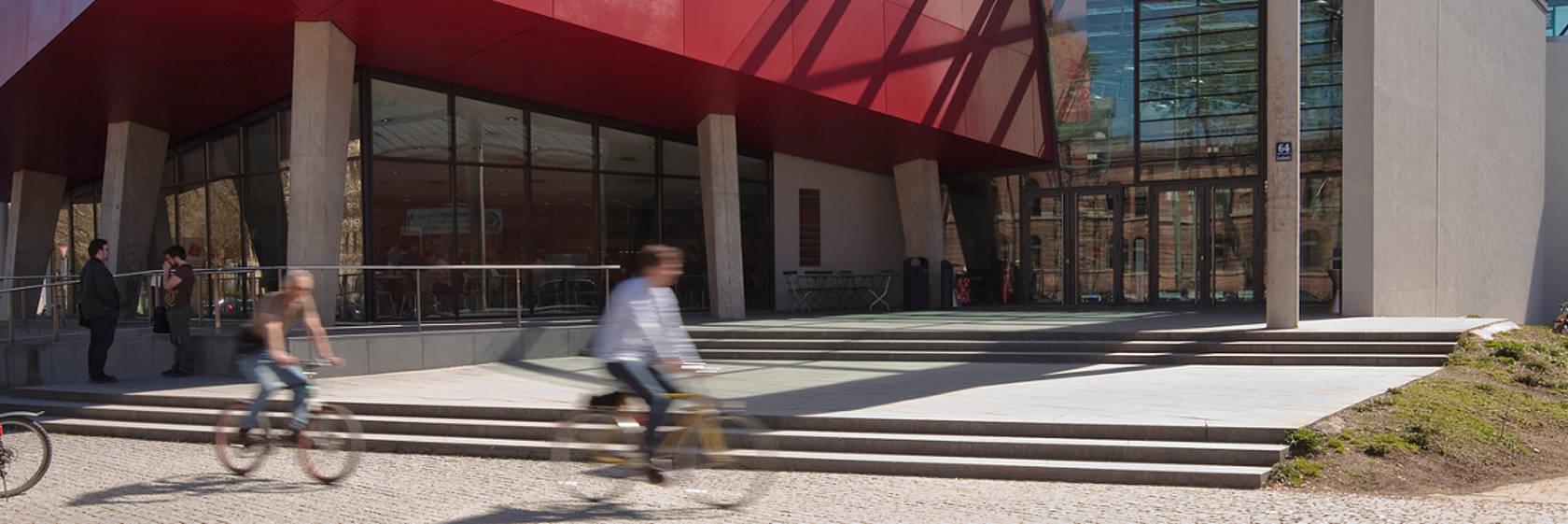 hochschule mnchen haupteingang foto hochschulkommunikationhochschule mnchen - Hochschule Mnchen Bewerbung