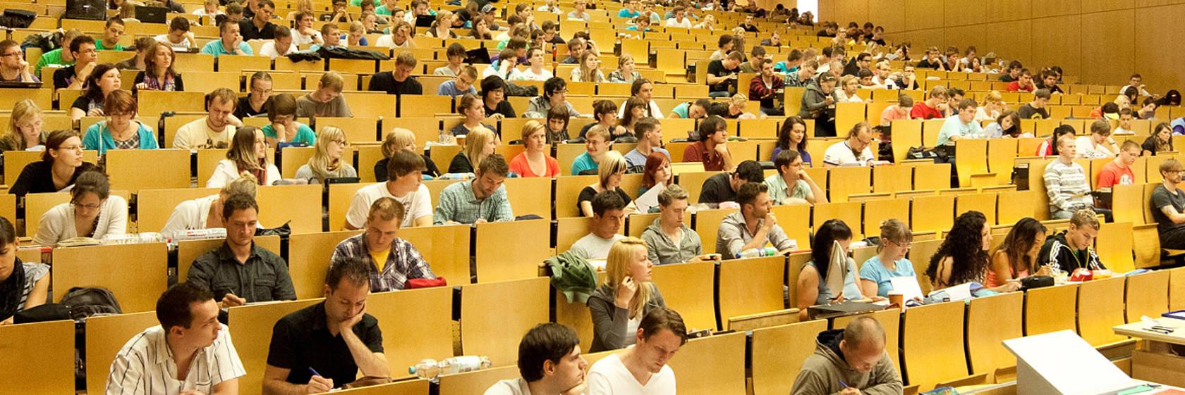 Hörsaal der TU Chemnitz (Foto: Technische Universität Chemnitz)