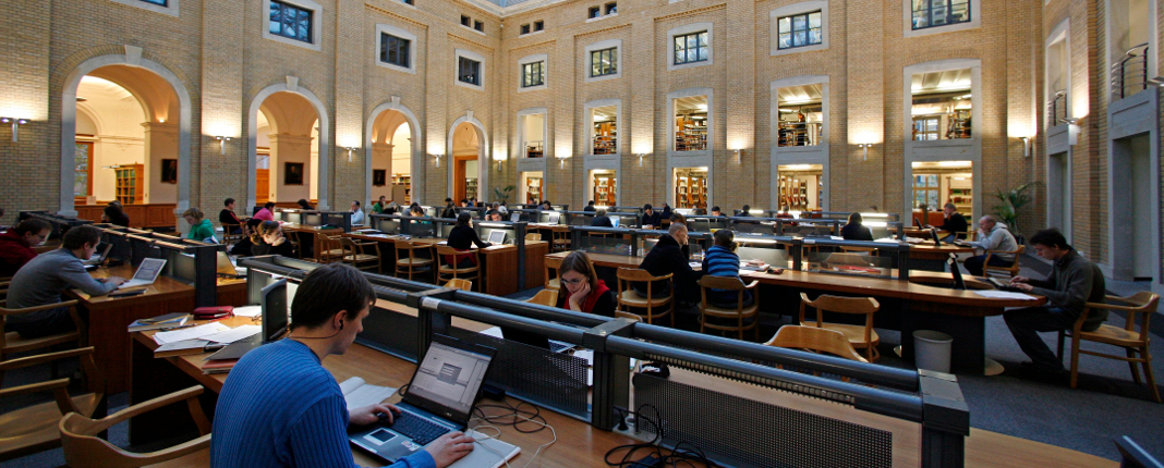 [Translate to English:] Bibliothek der Universität Leipzig (Foto: Jan Woitas/Universität Leipzig)